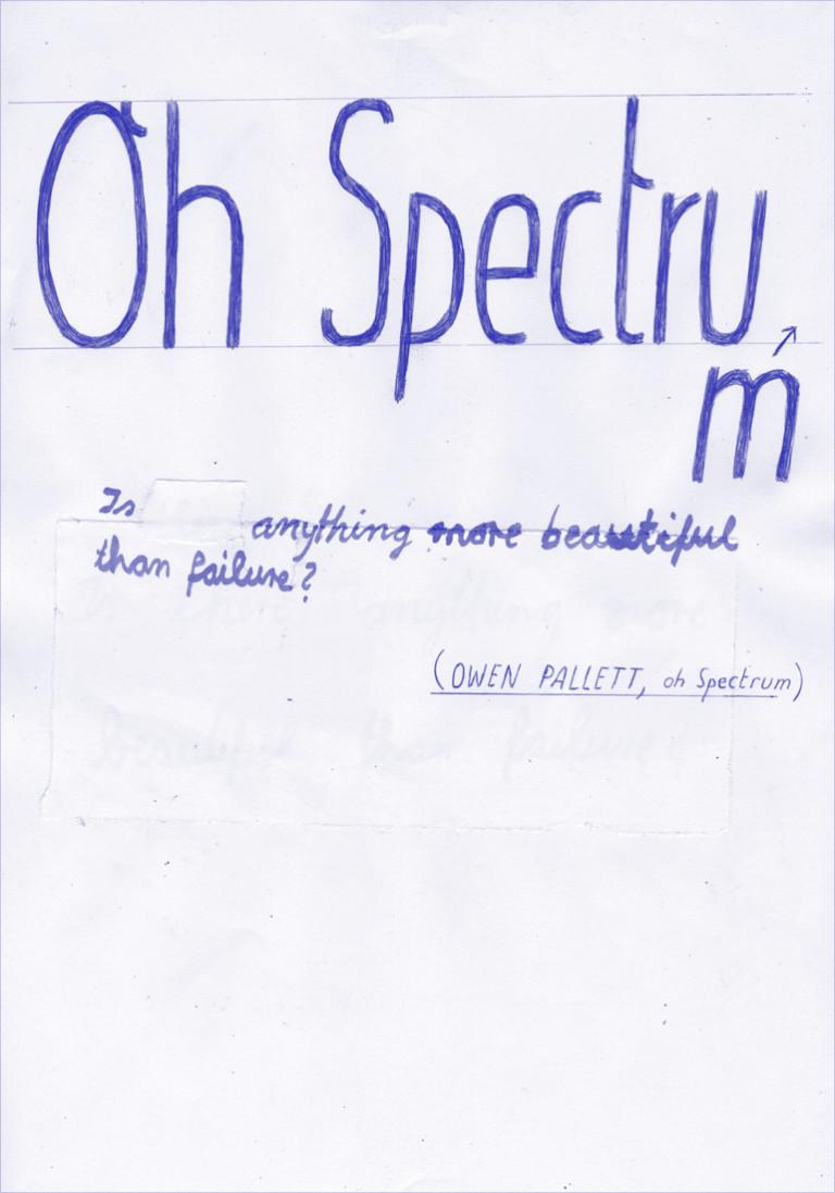 Christina Gransow Oh Spectrum!